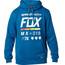 Fox District 2 Hoodie Herrer blå